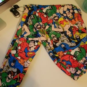 Plus Size DC Comic Leggings